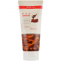 Купить FarmStay Red Ginseng Pure Cleansing Foam Киев, Украина